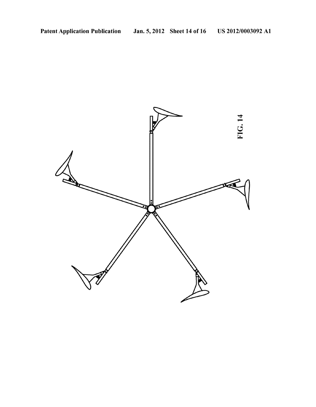 WIND MILL STRUCTURE OF LIFT-TYPE VERTICAL AXIS WIND TURBINE