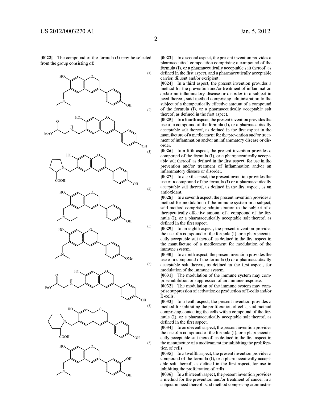 6-SUBSTITUTED ISOFLAVONOID COMPOUNDS AND USES THEREOF - diagram, schematic, and image 08