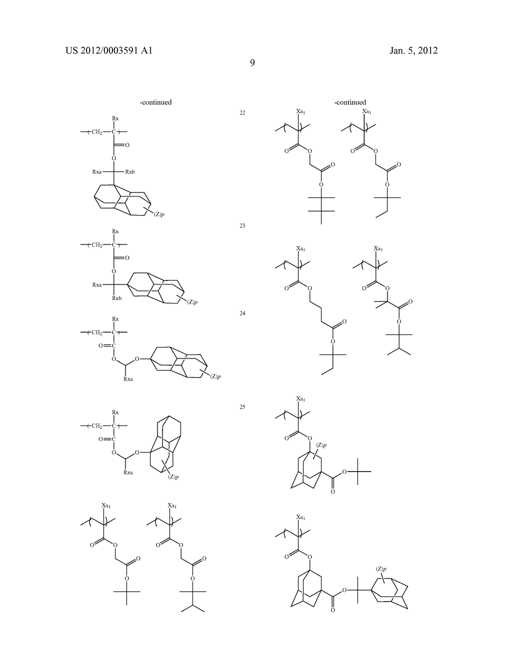 METHOD OF FORMING PATTERN AND DEVELOPER FOR USE IN THE METHOD - diagram, schematic, and image 12