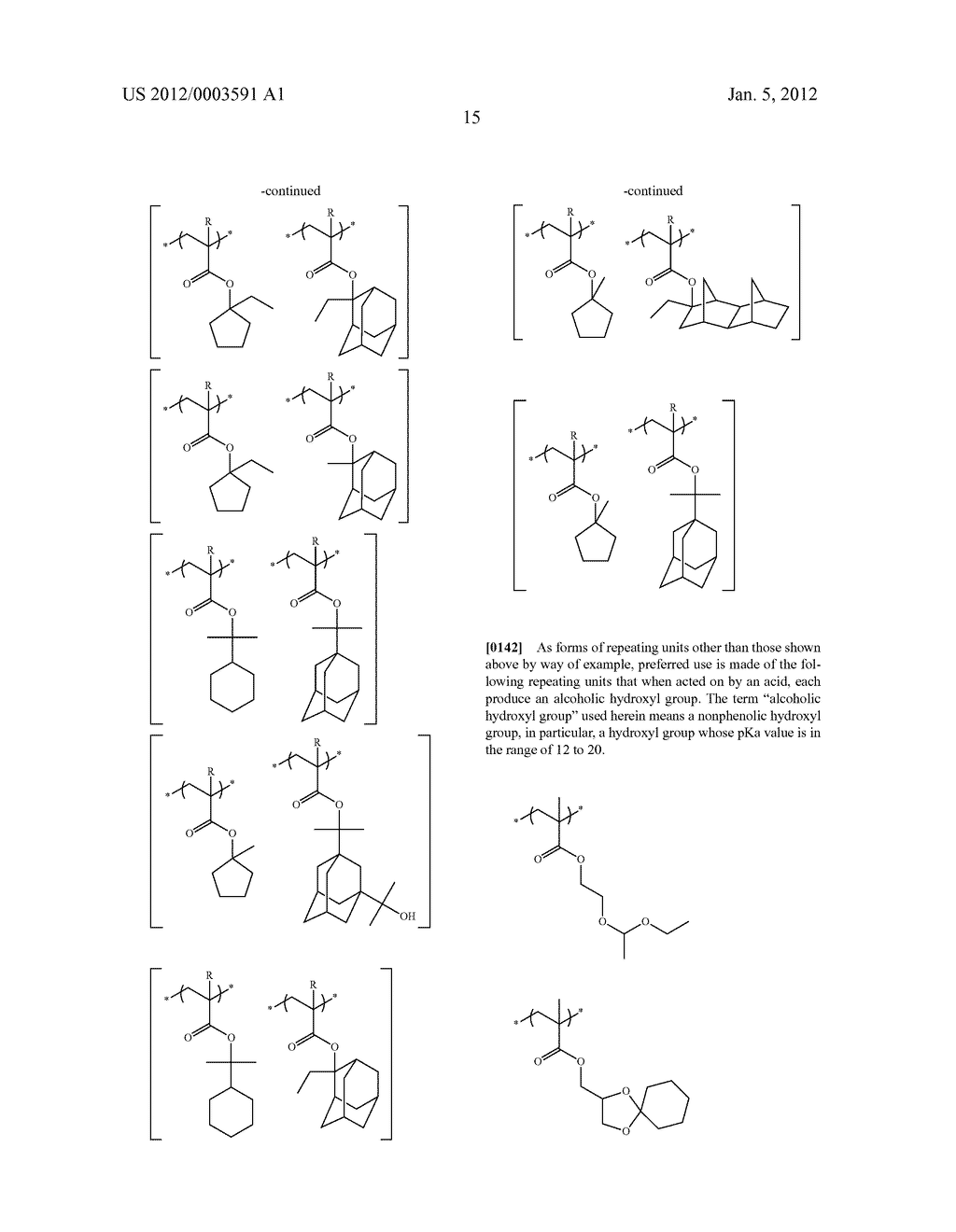METHOD OF FORMING PATTERN AND DEVELOPER FOR USE IN THE METHOD - diagram, schematic, and image 18