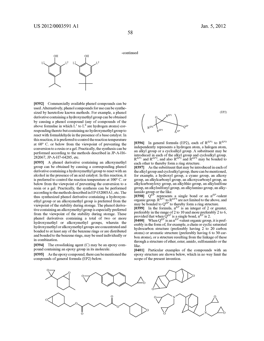 METHOD OF FORMING PATTERN AND DEVELOPER FOR USE IN THE METHOD - diagram, schematic, and image 61