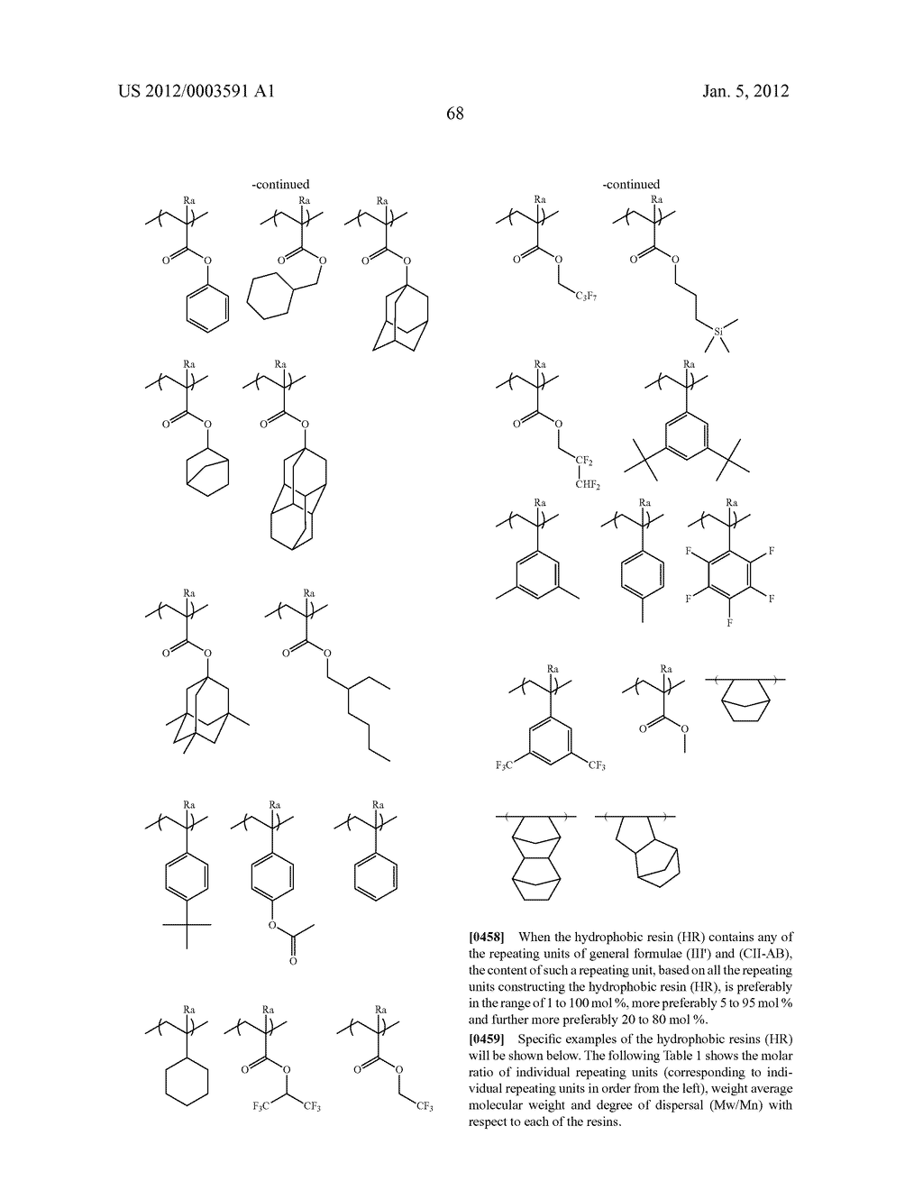 METHOD OF FORMING PATTERN AND DEVELOPER FOR USE IN THE METHOD - diagram, schematic, and image 71
