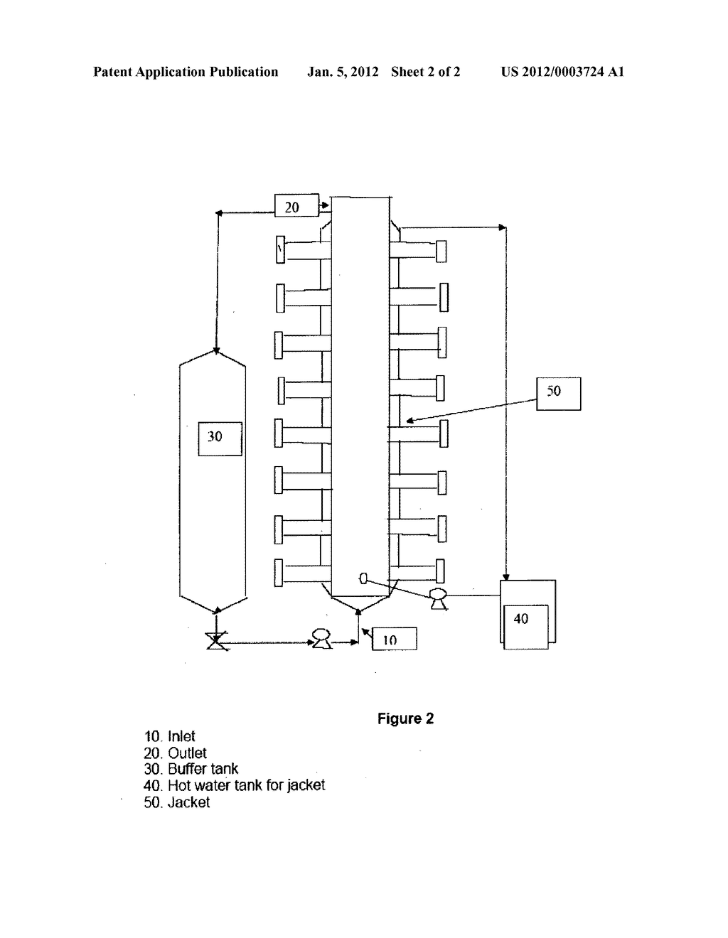 Process and Reactor System for Depolymerization of Polymeric Biomass - diagram, schematic, and image 03