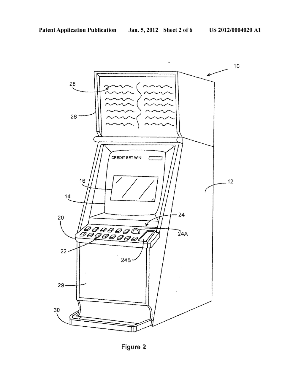 GAMING SYSTEM AND METHOD - diagram, schematic, and image 03