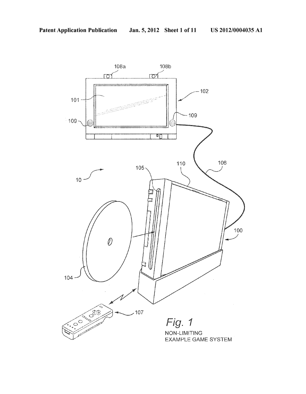 SYSTEM AND METHOD FOR USING ACCELEROMETER OUTPUTS TO CONTROL AN OBJECT     ROTATING ON A DISPLAY - diagram, schematic, and image 02