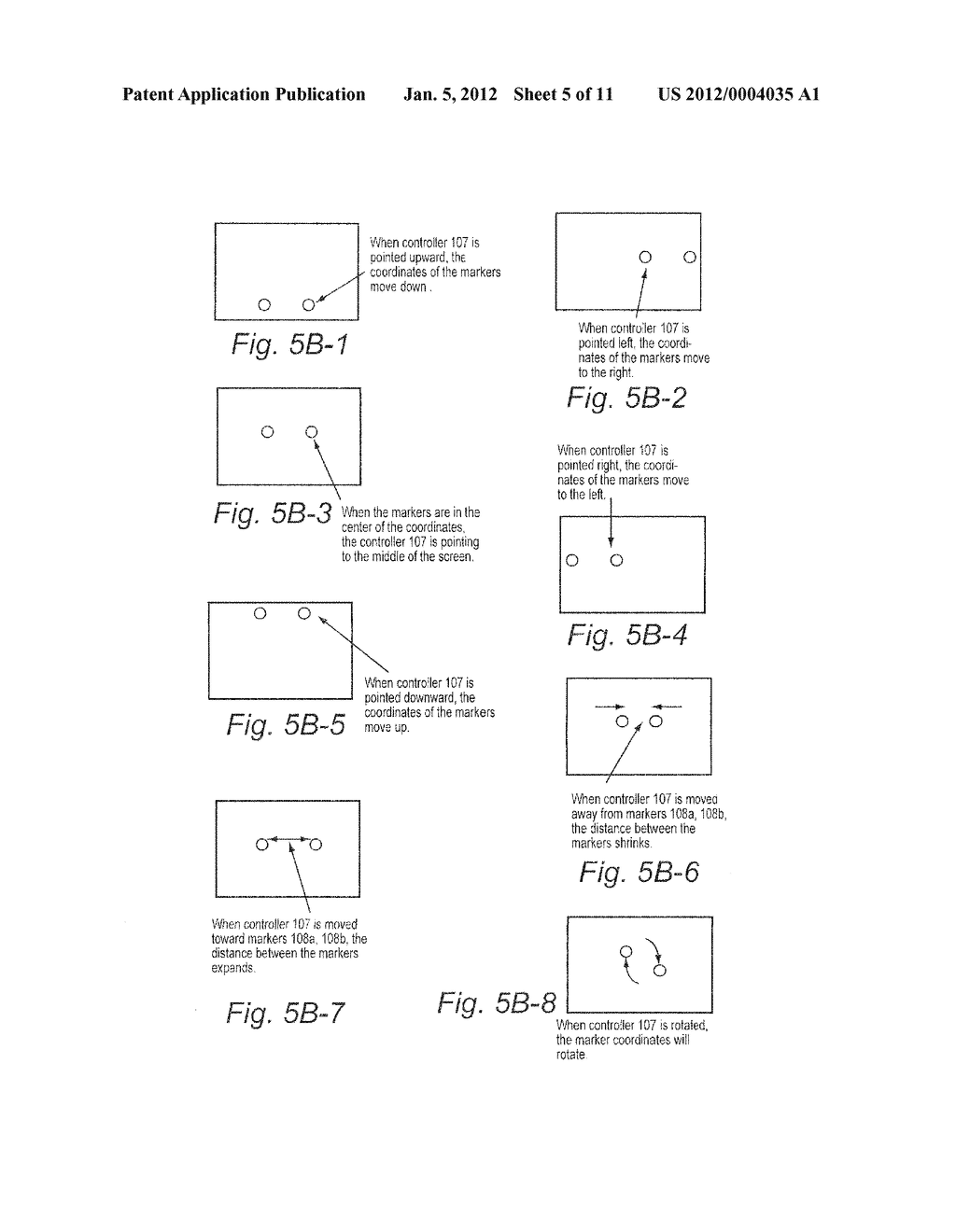 SYSTEM AND METHOD FOR USING ACCELEROMETER OUTPUTS TO CONTROL AN OBJECT     ROTATING ON A DISPLAY - diagram, schematic, and image 06