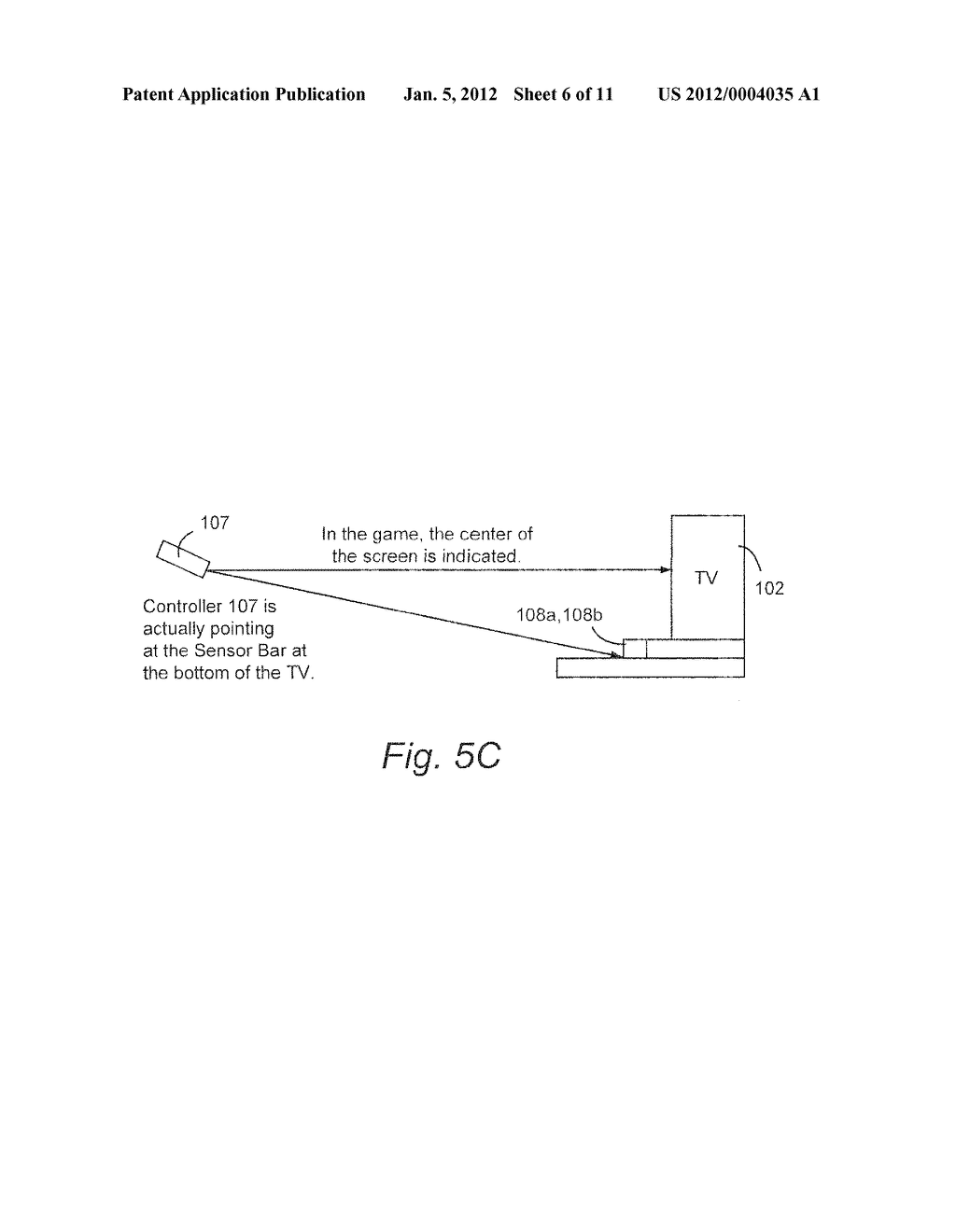 SYSTEM AND METHOD FOR USING ACCELEROMETER OUTPUTS TO CONTROL AN OBJECT     ROTATING ON A DISPLAY - diagram, schematic, and image 07