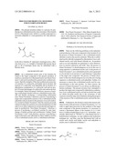Process for Producing Monomer for Fluorinated Resist diagram and image