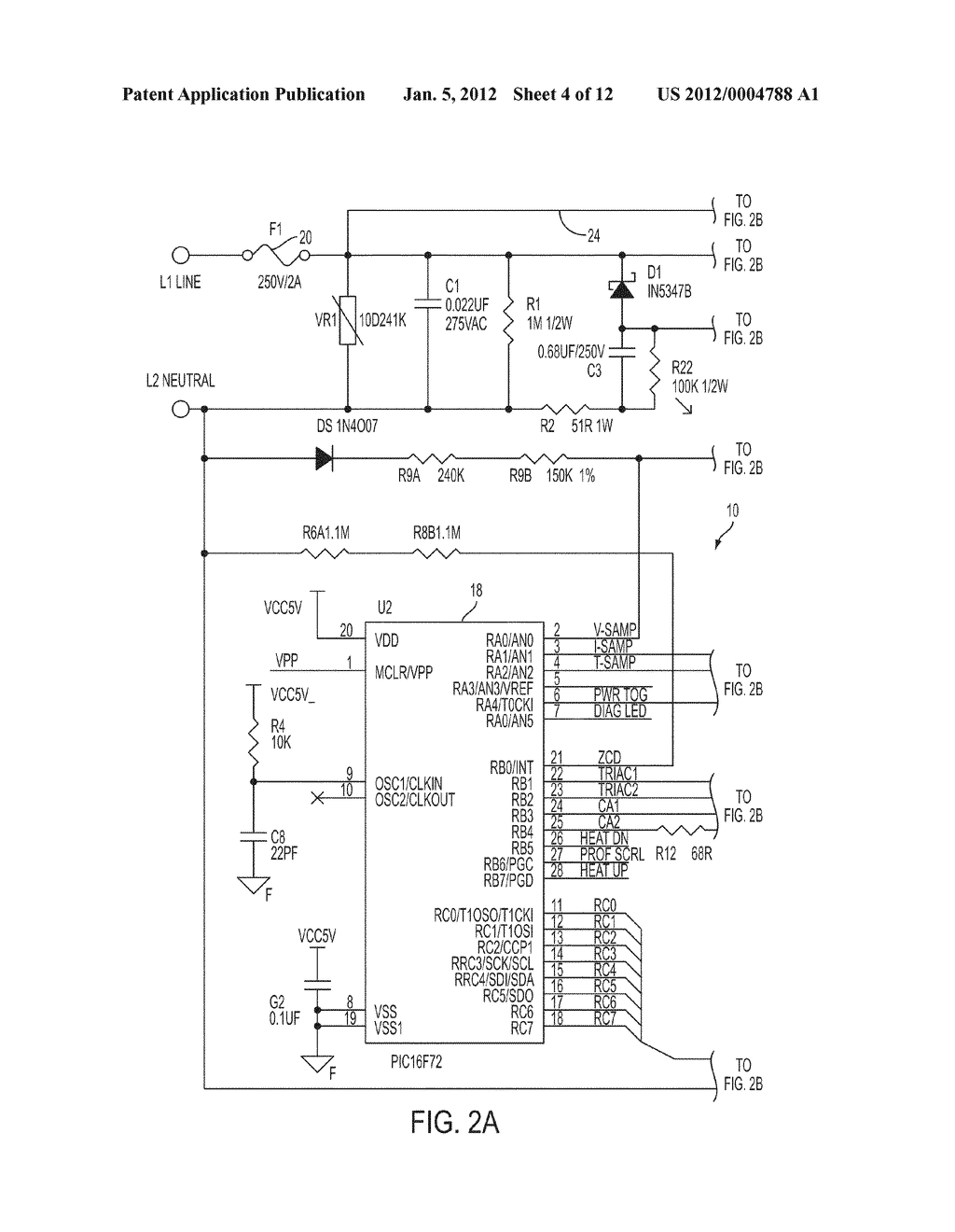 HEATING BLANKET WITH CONTROL CIRCUIT AND SAFETY WIRE - diagram, schematic,  and image 05Patents
