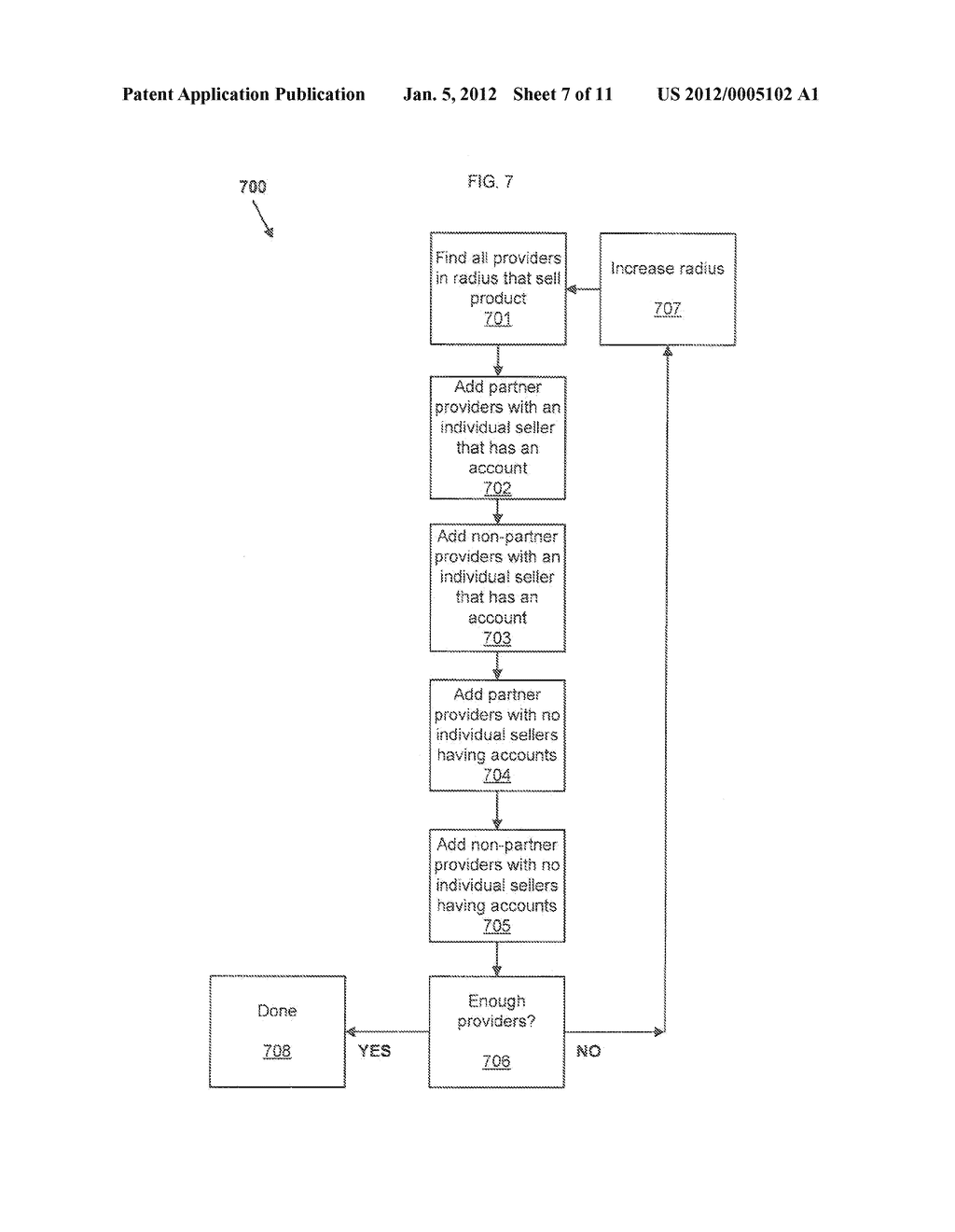 Method and System for Anonymous Communication Between A Consumer and     Provider - diagram, schematic, and image 08
