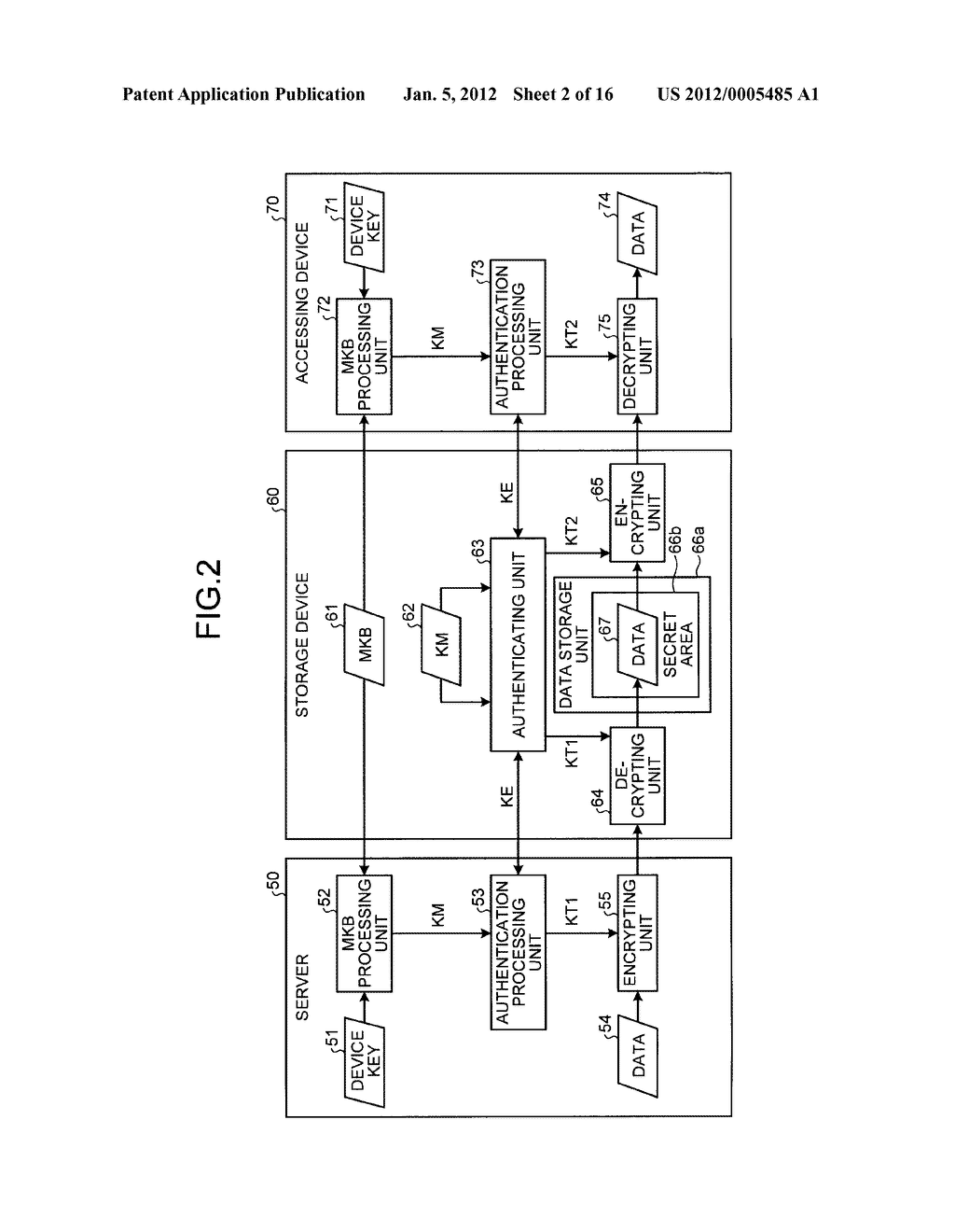 STORAGE DEVICE AND INFORMATION PROCESSING APPARATUS - diagram, schematic, and image 03