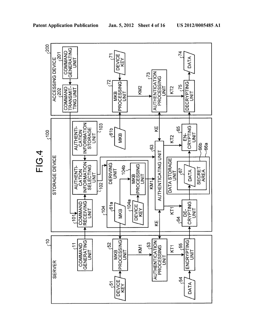 STORAGE DEVICE AND INFORMATION PROCESSING APPARATUS - diagram, schematic, and image 05