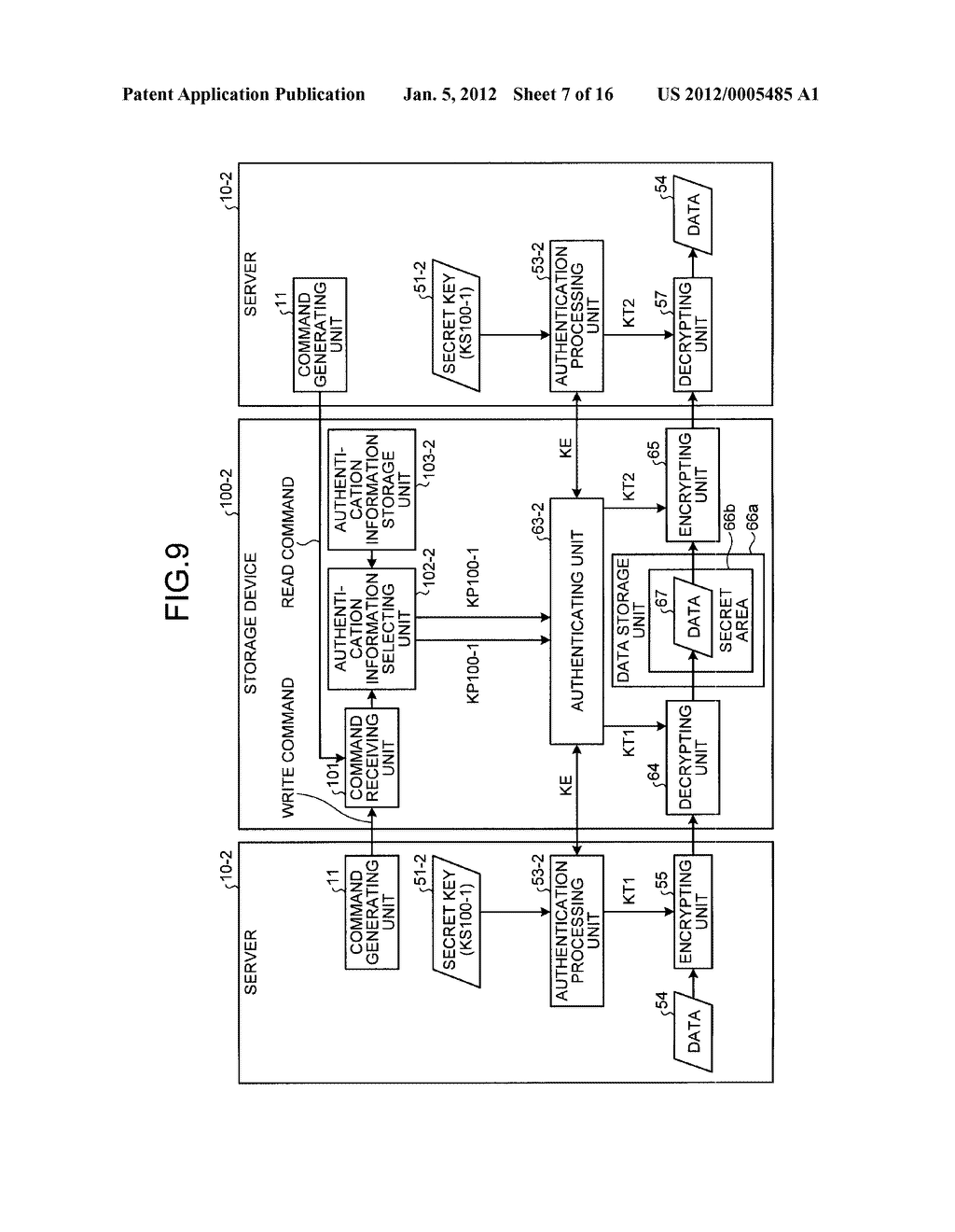 STORAGE DEVICE AND INFORMATION PROCESSING APPARATUS - diagram, schematic, and image 08