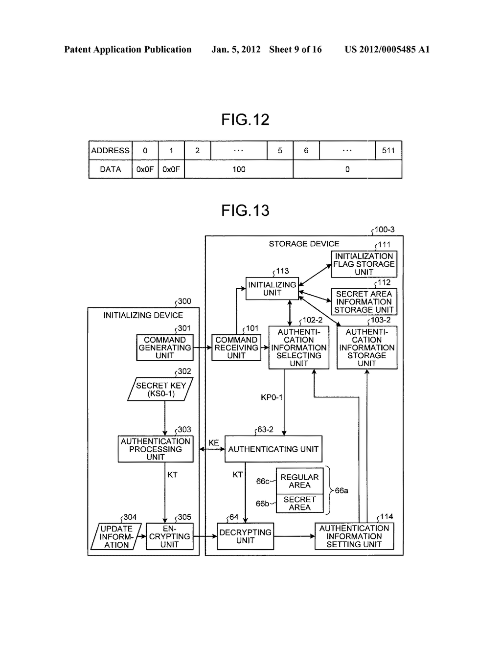 STORAGE DEVICE AND INFORMATION PROCESSING APPARATUS - diagram, schematic, and image 10