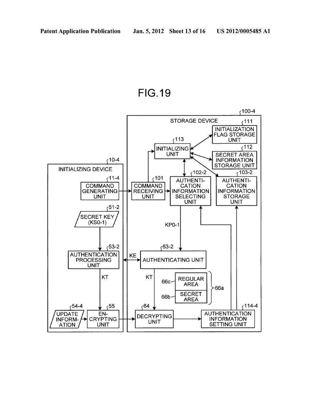 STORAGE DEVICE AND INFORMATION PROCESSING APPARATUS - diagram, schematic, and image 14