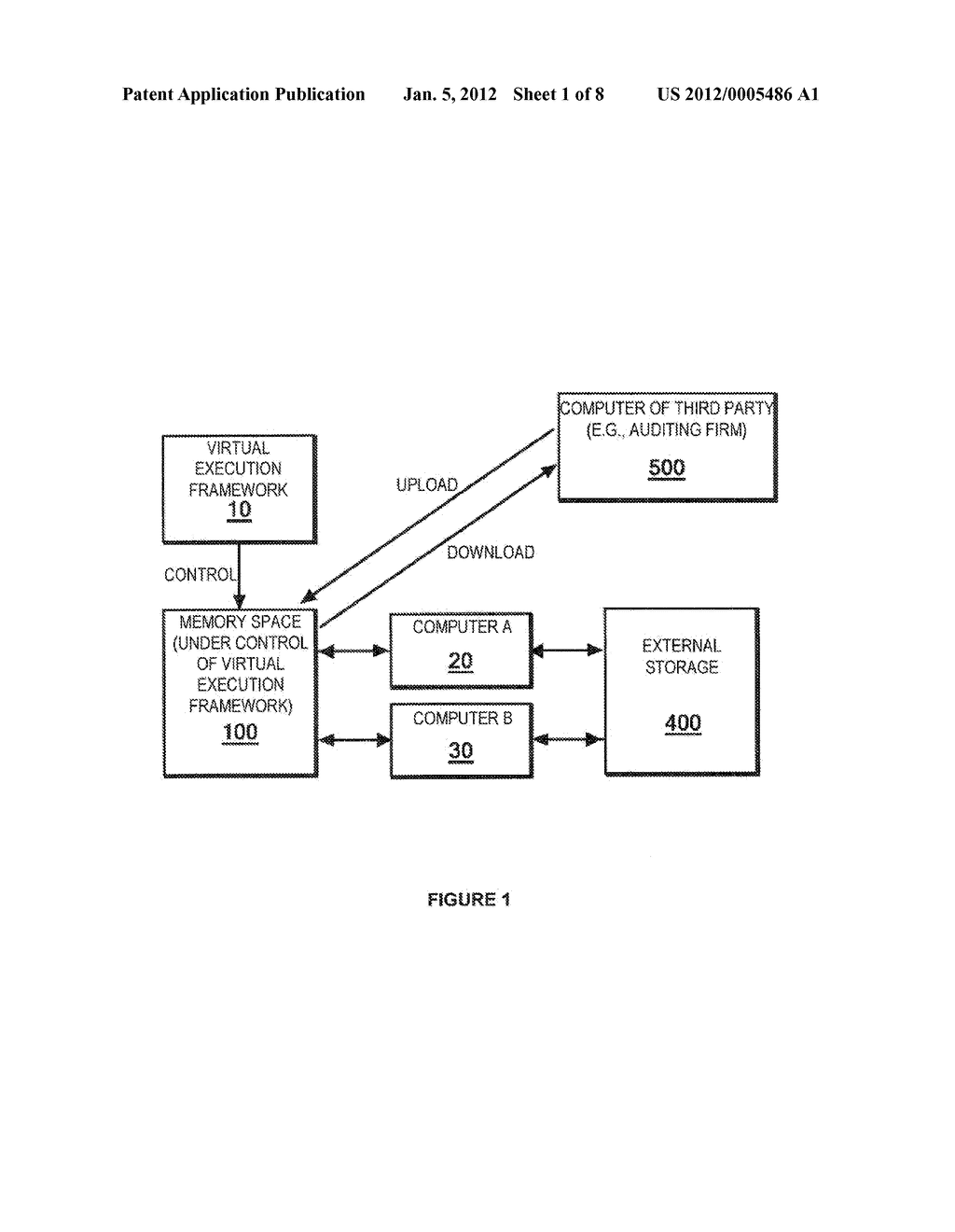 METHOD OF PROCESSING DATA TO ENABLE EXTERNAL STORAGE THEREOF WITH     MINIMIZED RISK OF INFORMATION LEAKAGE - diagram, schematic, and image 02