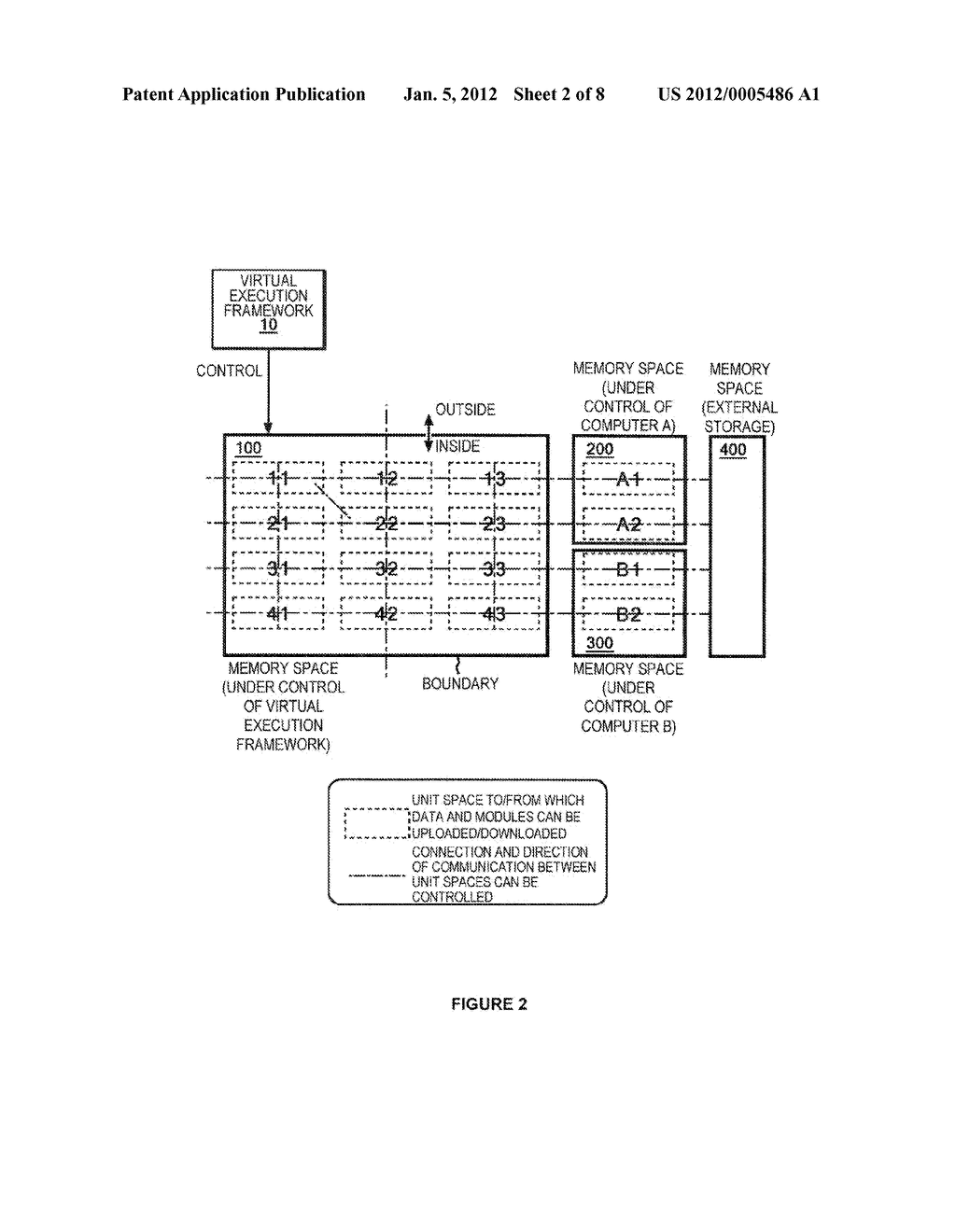 METHOD OF PROCESSING DATA TO ENABLE EXTERNAL STORAGE THEREOF WITH     MINIMIZED RISK OF INFORMATION LEAKAGE - diagram, schematic, and image 03