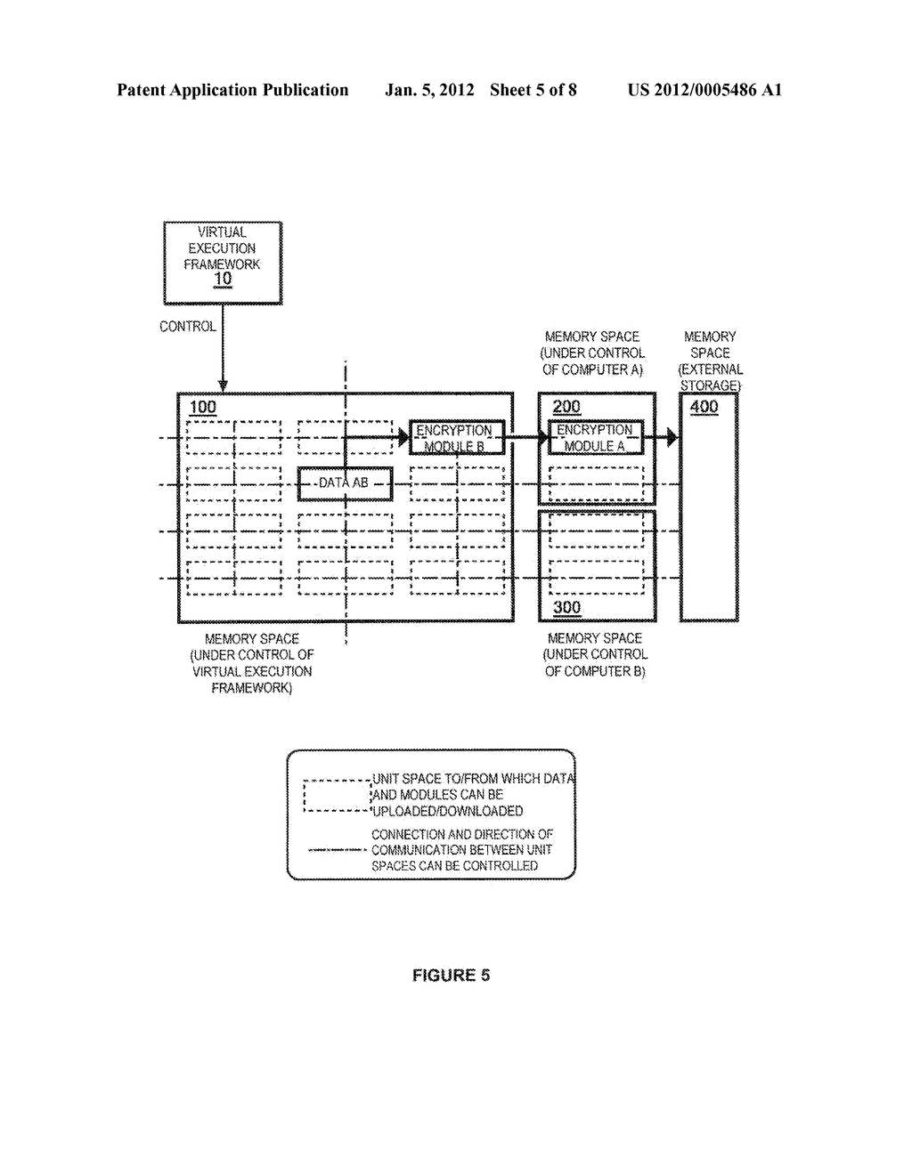 METHOD OF PROCESSING DATA TO ENABLE EXTERNAL STORAGE THEREOF WITH     MINIMIZED RISK OF INFORMATION LEAKAGE - diagram, schematic, and image 06