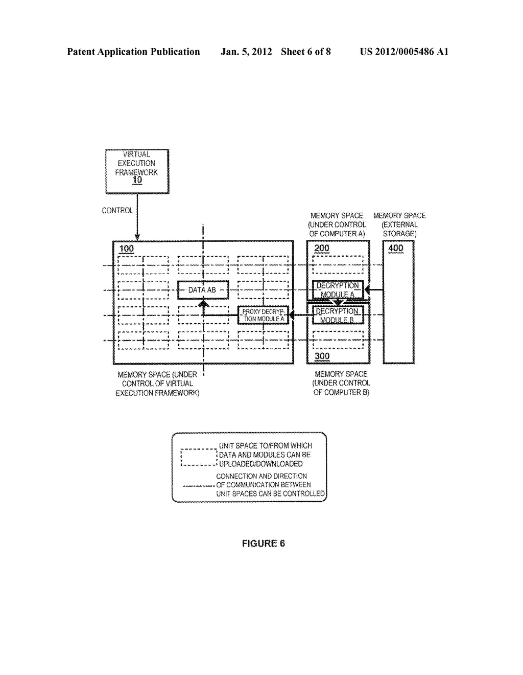 METHOD OF PROCESSING DATA TO ENABLE EXTERNAL STORAGE THEREOF WITH     MINIMIZED RISK OF INFORMATION LEAKAGE - diagram, schematic, and image 07