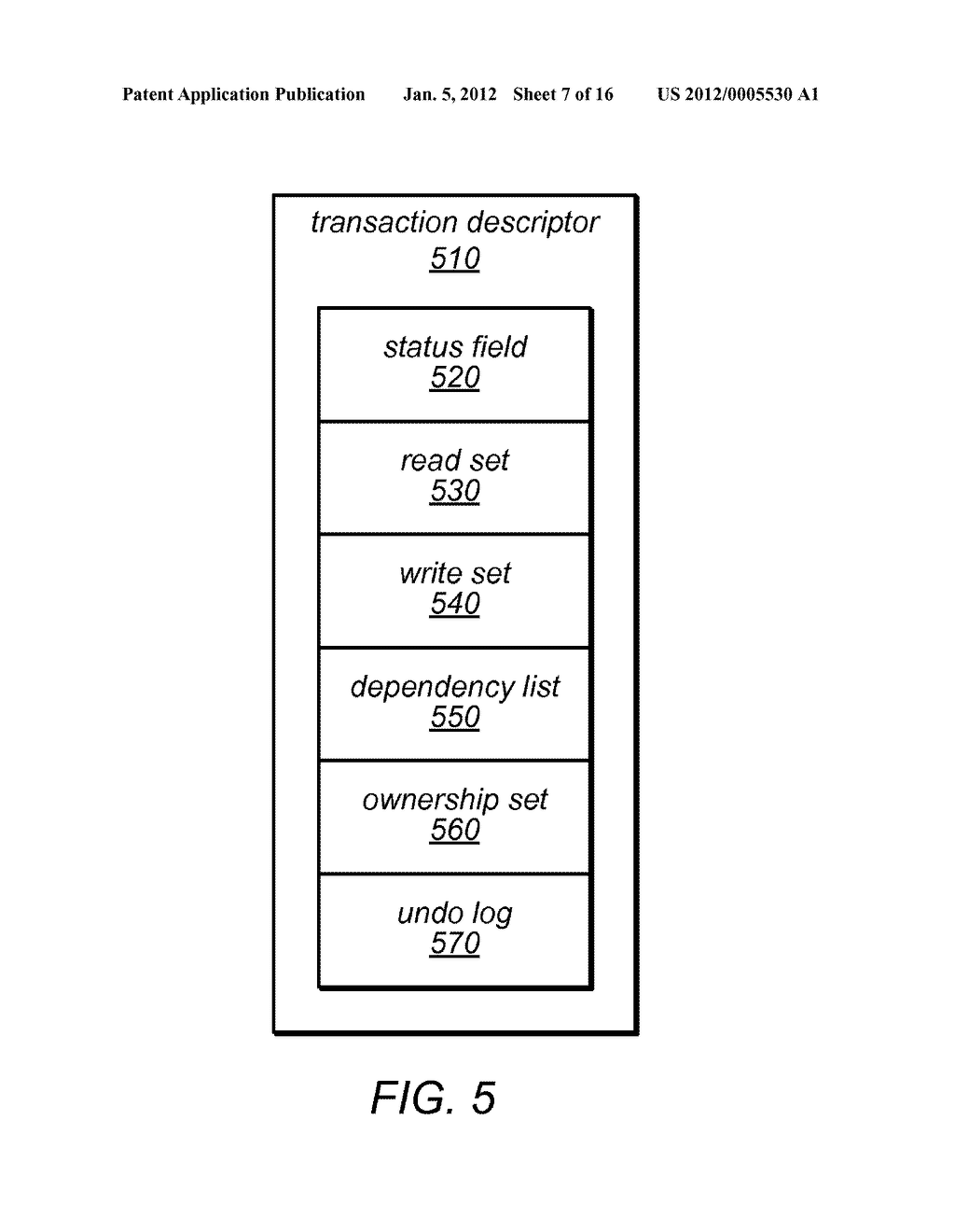 System and Method for Communication Between Concurrent Transactions Using     Transaction Communicator Objects - diagram, schematic, and image 08