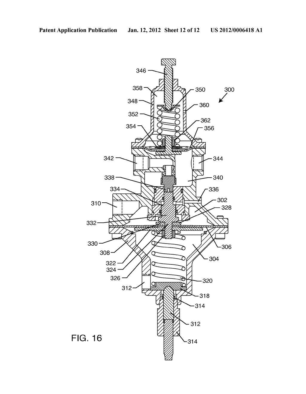 SYSTEM AND METHOD FOR HYDRAULICALLY MANAGING FLUID PRESSURE DOWNSTREAM     FROM A MAIN VALVE - diagram, schematic, and image 13