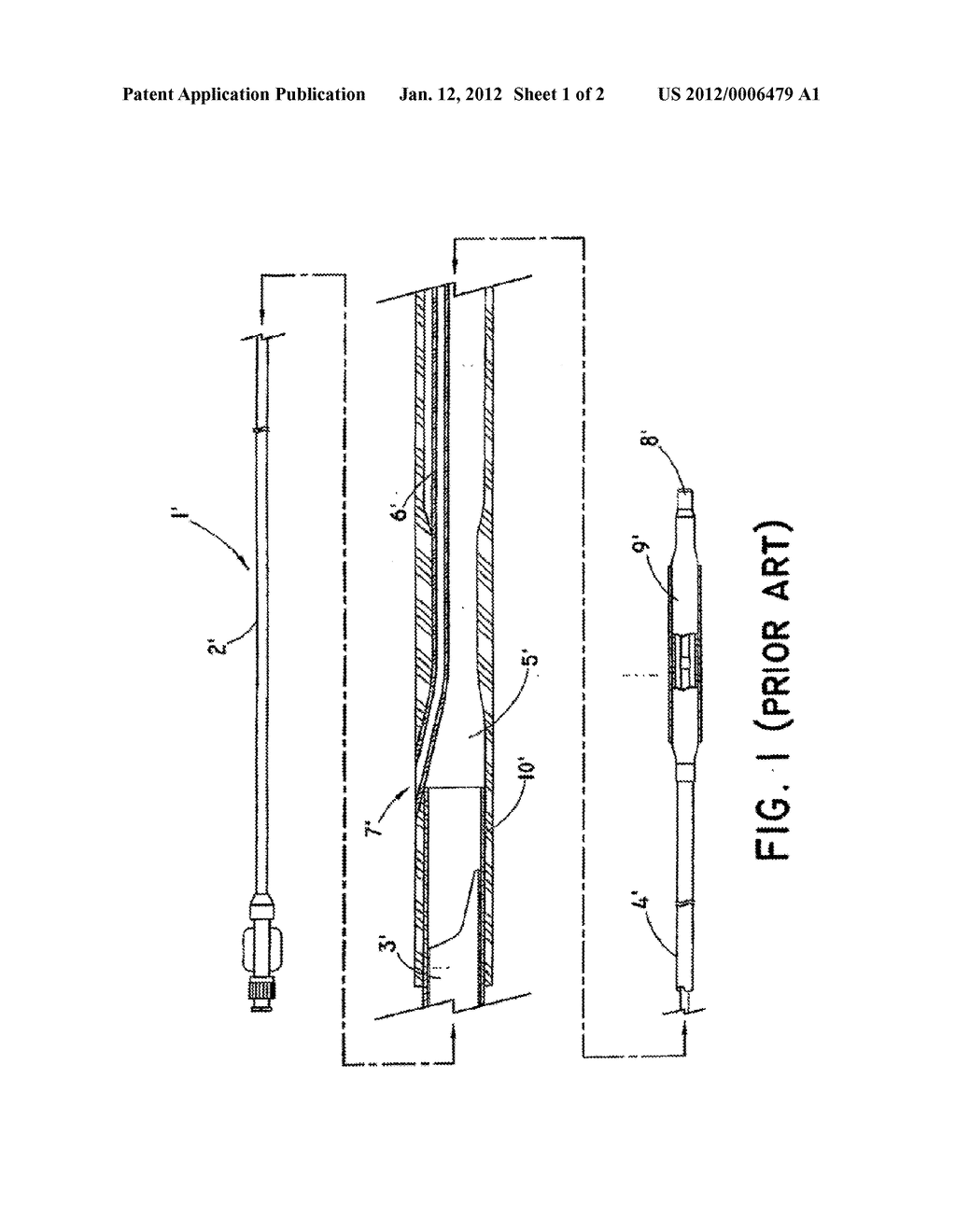 Rapid Exchange Balloon Catheter and Method for Making Same - diagram, schematic, and image 02