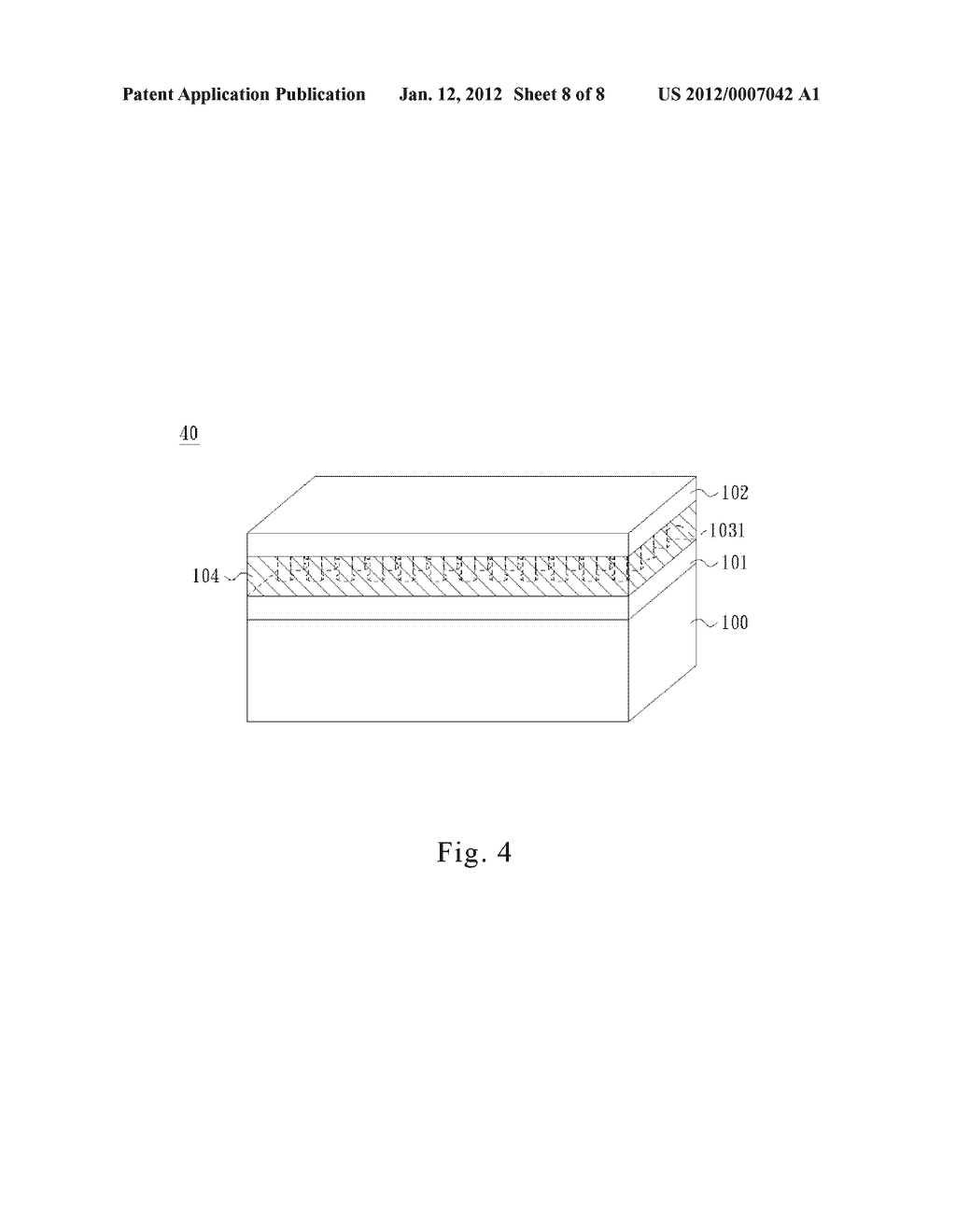 LIGHT EMITTING DEVICE WITH A SINGLE QUANTUM WELL ROD - diagram, schematic, and image 09