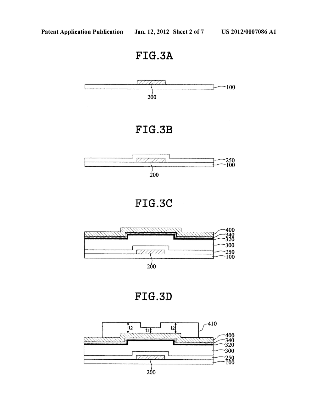 THIN FILM TRANSISTOR SUBSTRATE AND LIQUID CRYSTAL DISPLAY DEVICE USING THE     SAME - diagram, schematic, and image 03