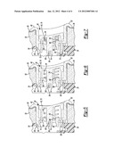 SEAT ASSEMBLY HAVING A BUTTON ASSEMBLY diagram and image