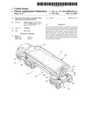 Pivot pin and saddle assembly for a side-dump trailer or truck diagram and image
