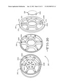 MULTI-PIECE VEHICLE WHEEL COVER RETENTION SYSTEM AND METHOD FOR PRODUCING     SAME diagram and image
