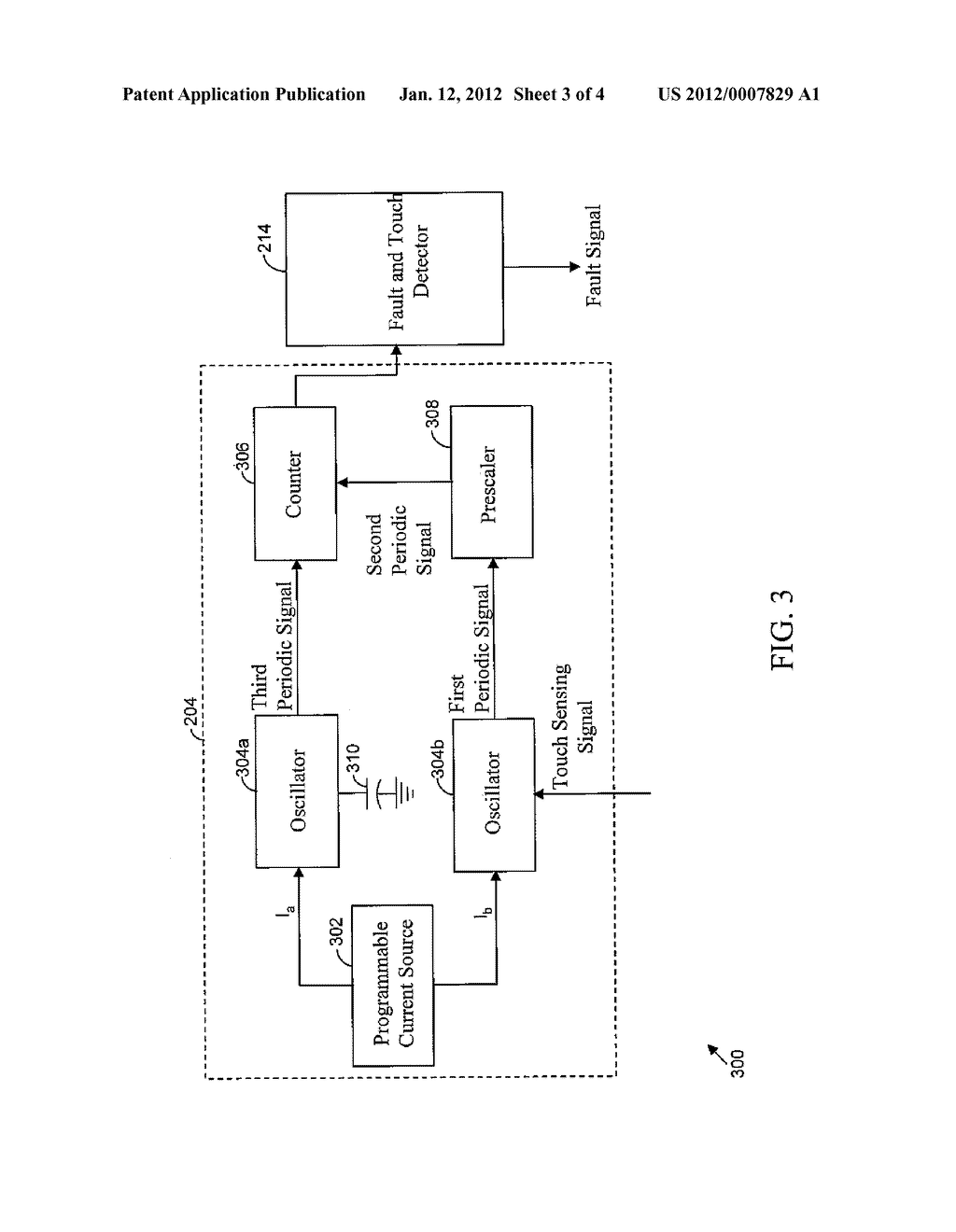 METHOD AND SYSTEM FOR TOUCH SENSOR INTERFACE FAULT DETECTION - diagram, schematic, and image 04