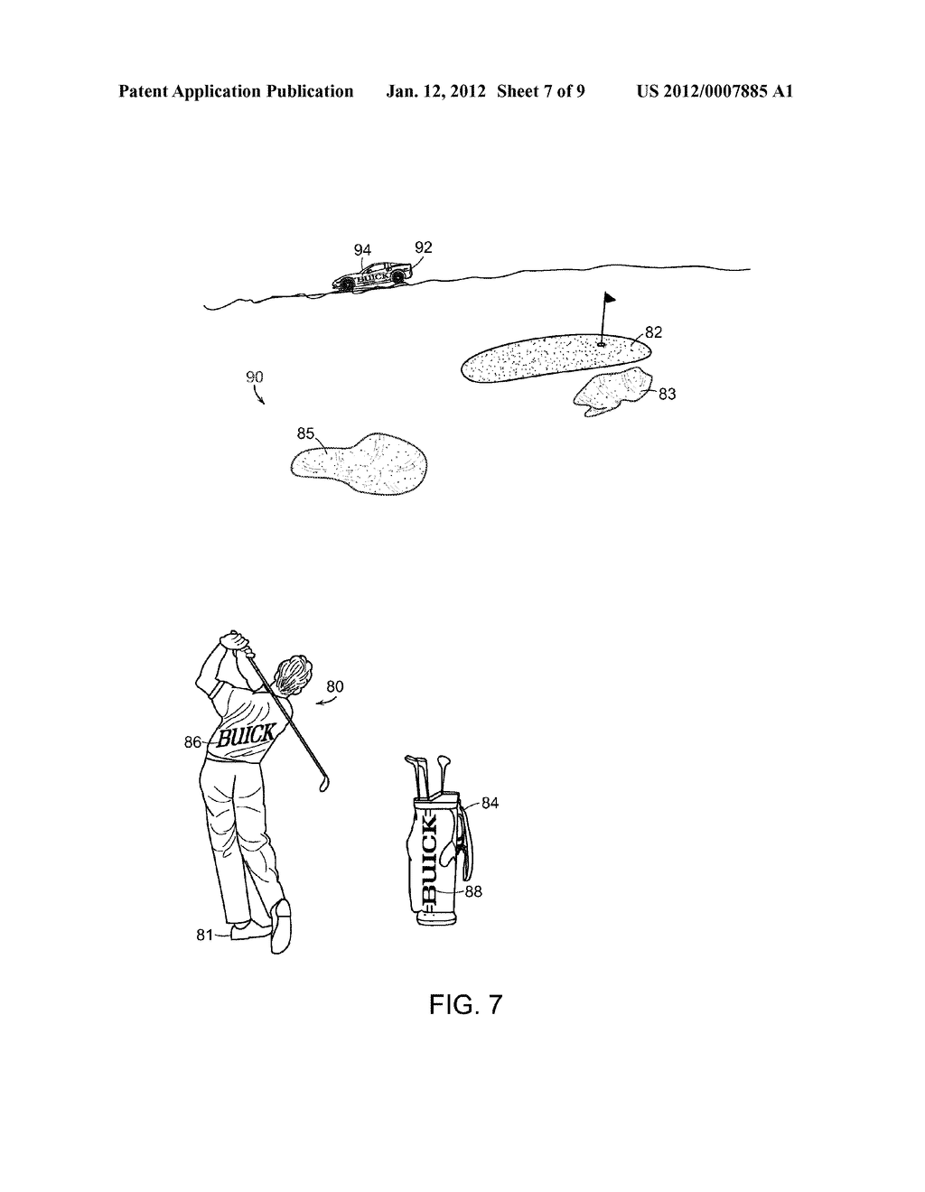 System and Method for Viewing Golf Using Virtual Reality - diagram, schematic, and image 08