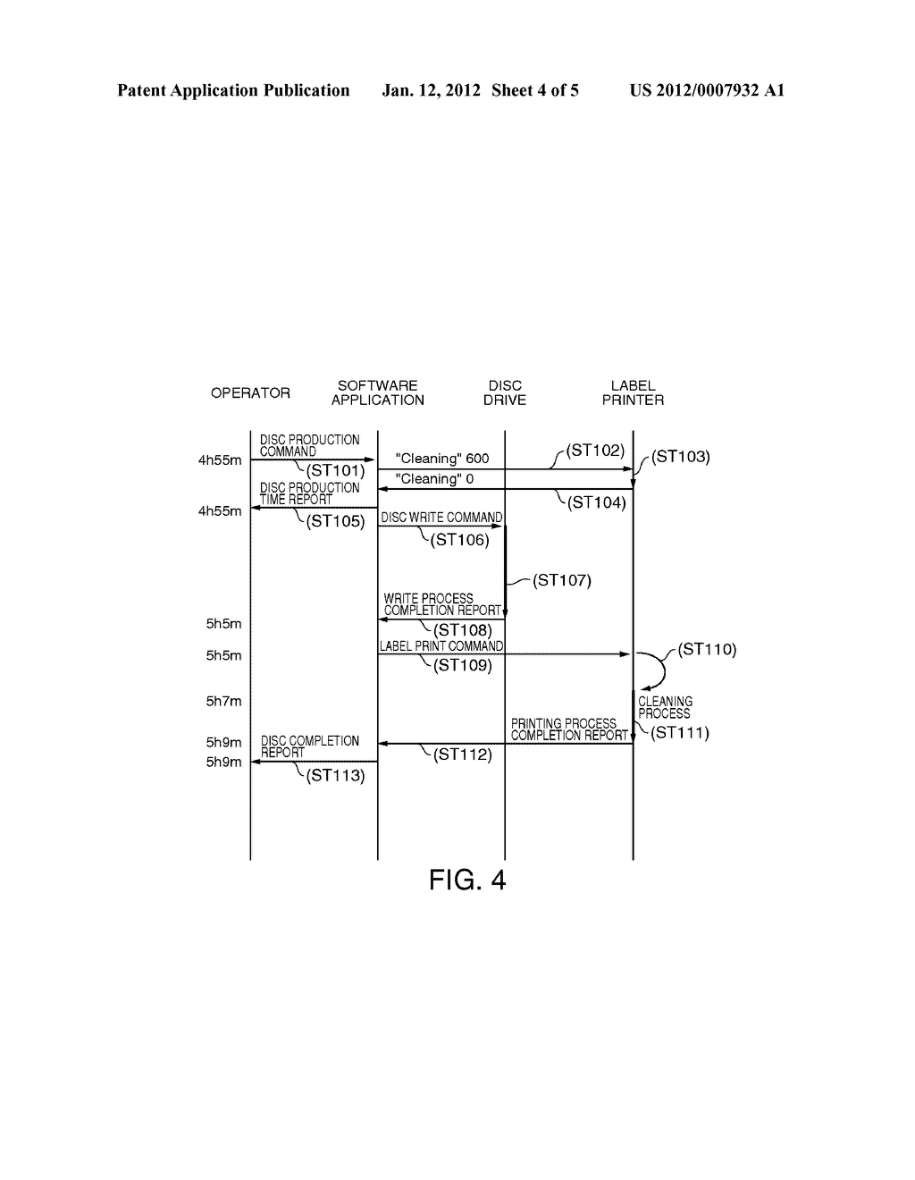 DRIVE CONTROL METHOD FOR A MEDIA PROCESSING DEVICE, AND A MEDIA PROCESSING     SYSTEM - diagram, schematic, and image 05