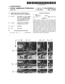 Video processing method for 3D display based on multi-cue process diagram and image