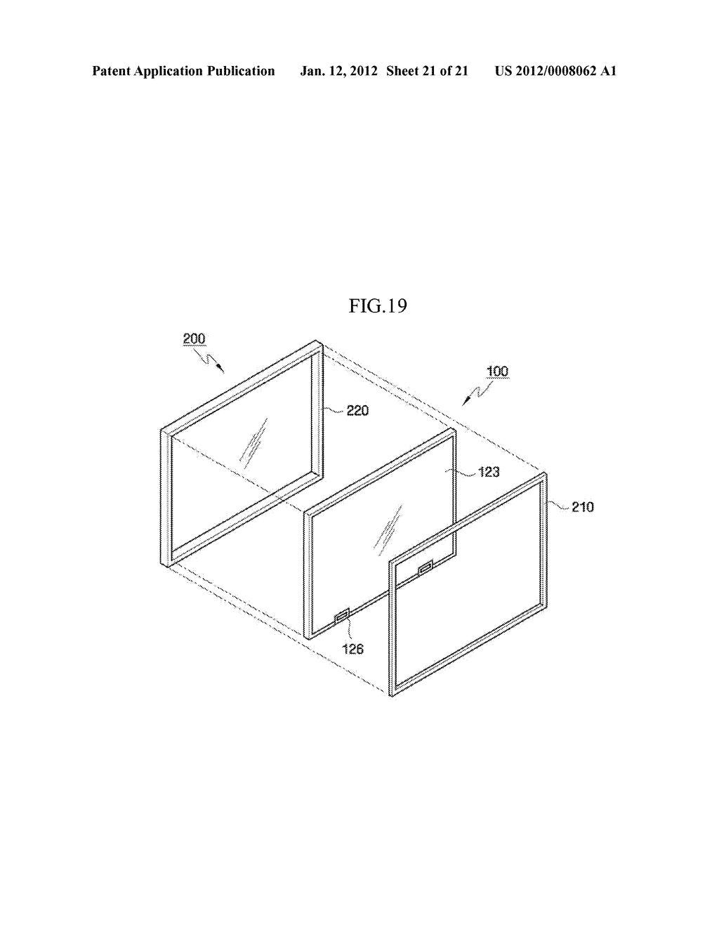 LIQUID CRYSTAL DISPLAY AND DISPLAY APPARATUS SET HAVING THE SAME - diagram, schematic, and image 22