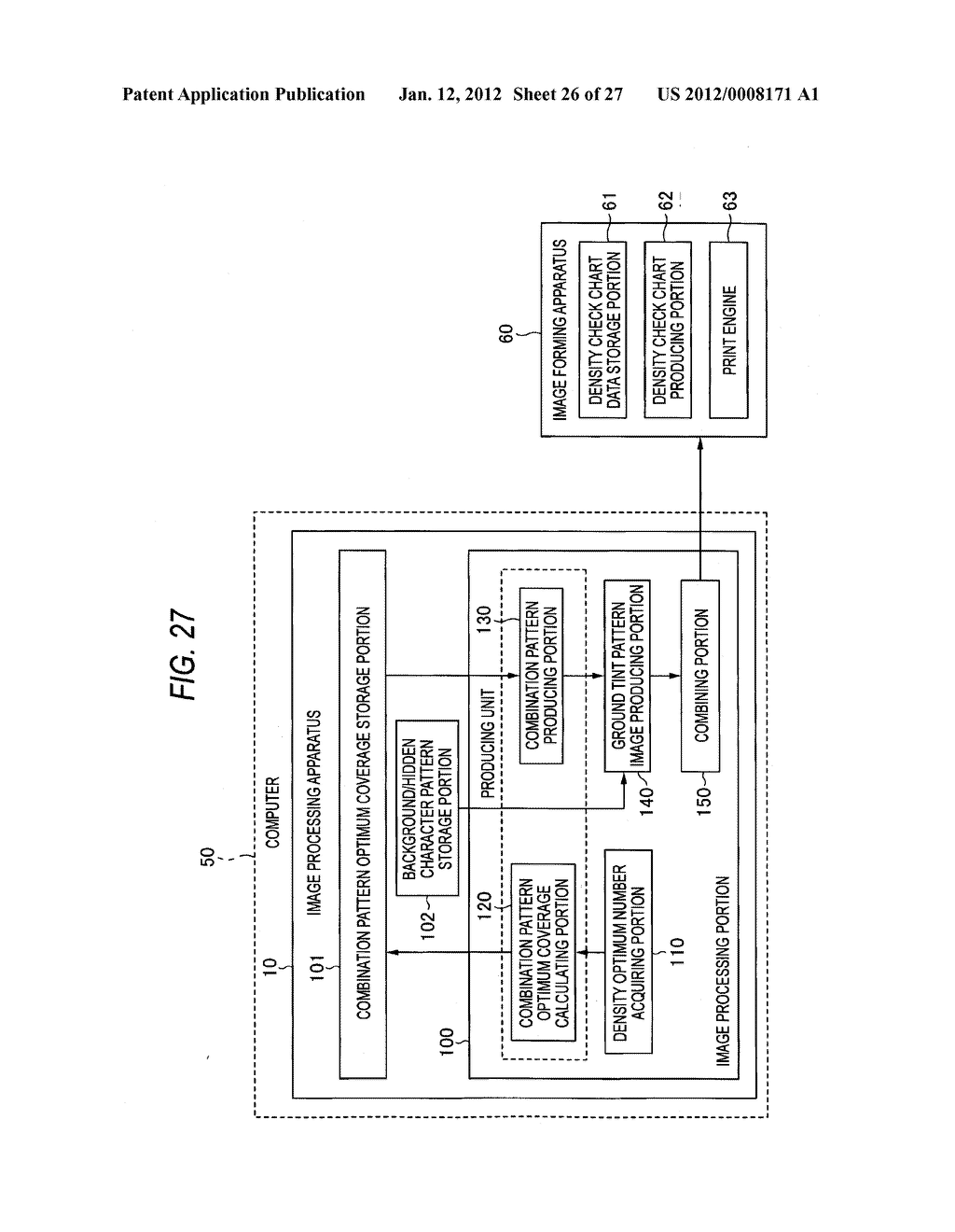 IMAGE PROCESSING APPARATUS, IMAGE FORMING APPARATUS, AND COMPUTER READABLE     MEDIUM - diagram, schematic, and image 27
