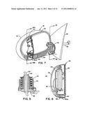 LIGHTED EXTERIOR MIRROR ASSEMBLY FOR VEHICLE diagram and image