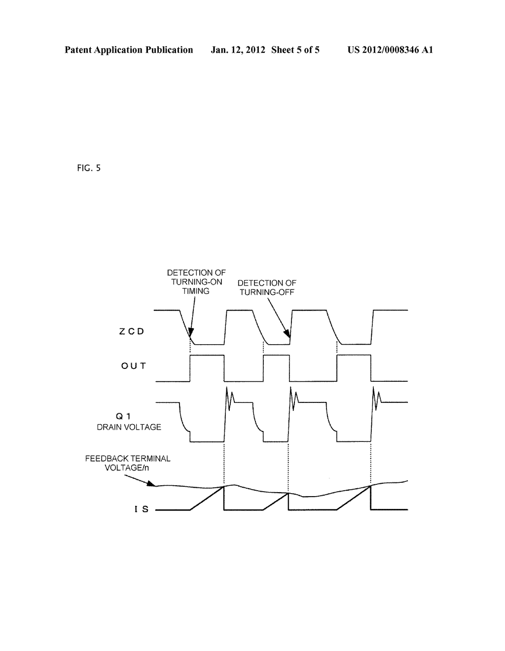 SEMICONDUCTOR INTEGRATED CIRCUIT AND SWITCHING POWER SUPPLY SYSTEM - diagram, schematic, and image 06