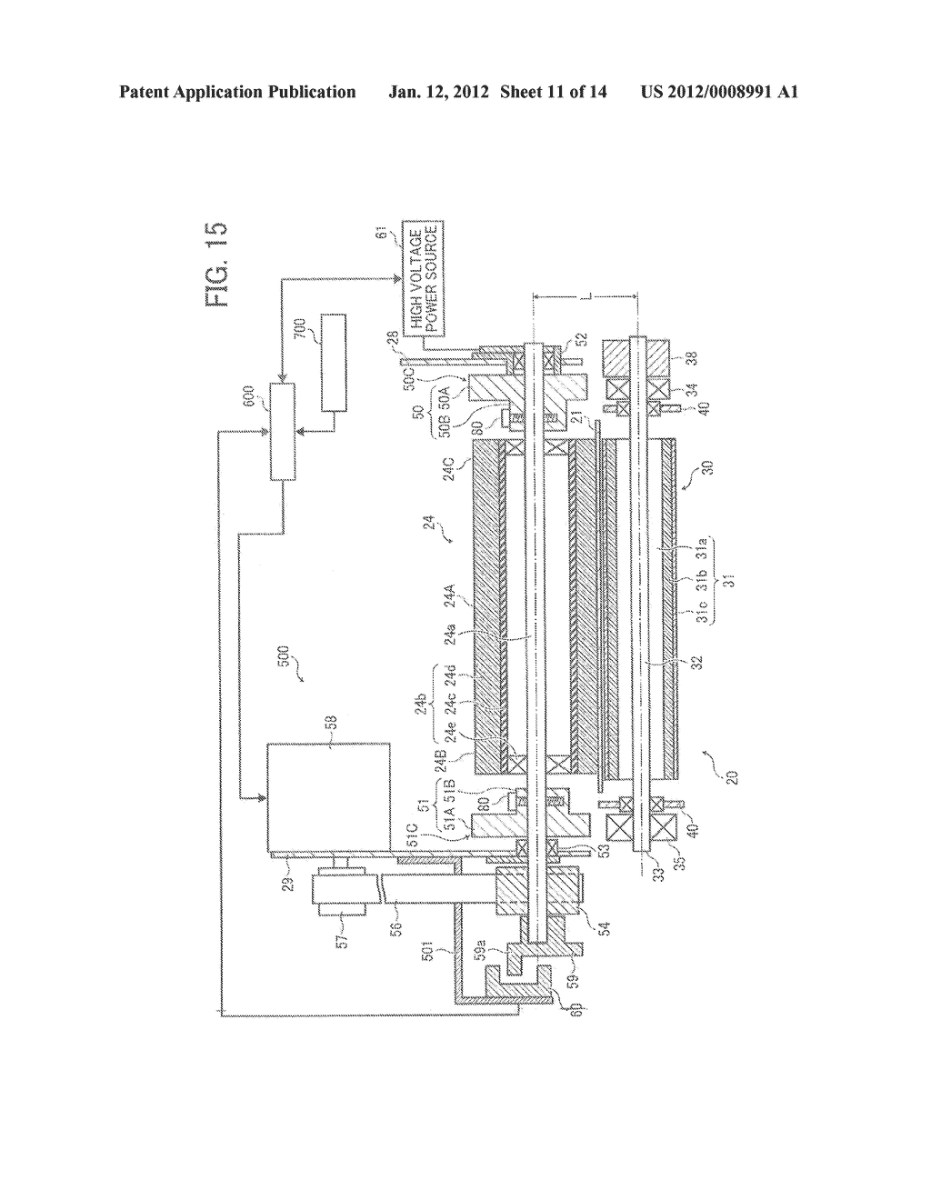 TRANSFER DEVICE AND IMAGE FORMING APPARATUS INCORPORATING TRANSFER DEVICE - diagram, schematic, and image 12