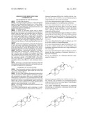 CHOLESTANOL DERIVATIVE FOR COMBINED USE diagram and image