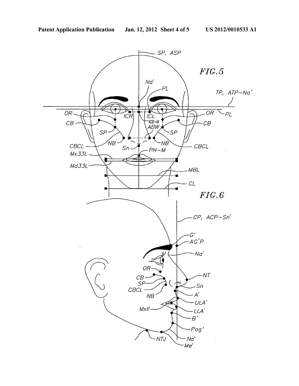 method for determining the correct natural head position location method for determining the correct natural head position location of references planes relative to a three dimensional computerized image of a patient s