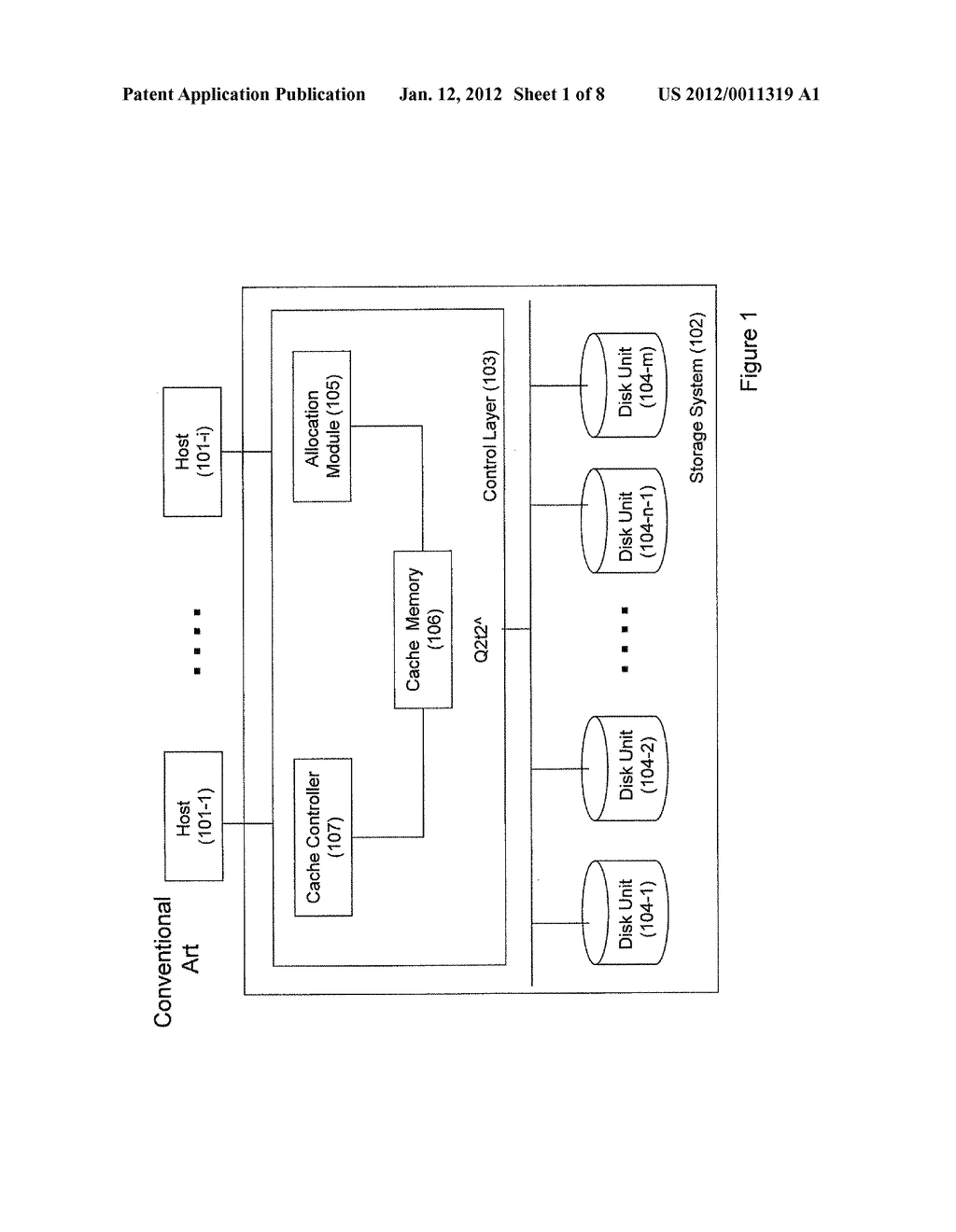 MASS STORAGE SYSTEM AND METHOD OF OPERATING THEREOF - diagram, schematic, and image 02