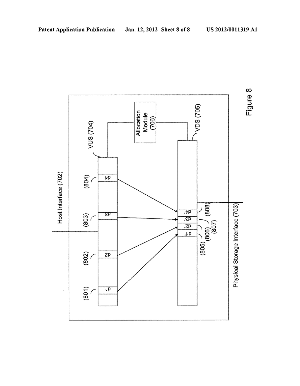 MASS STORAGE SYSTEM AND METHOD OF OPERATING THEREOF - diagram, schematic, and image 09