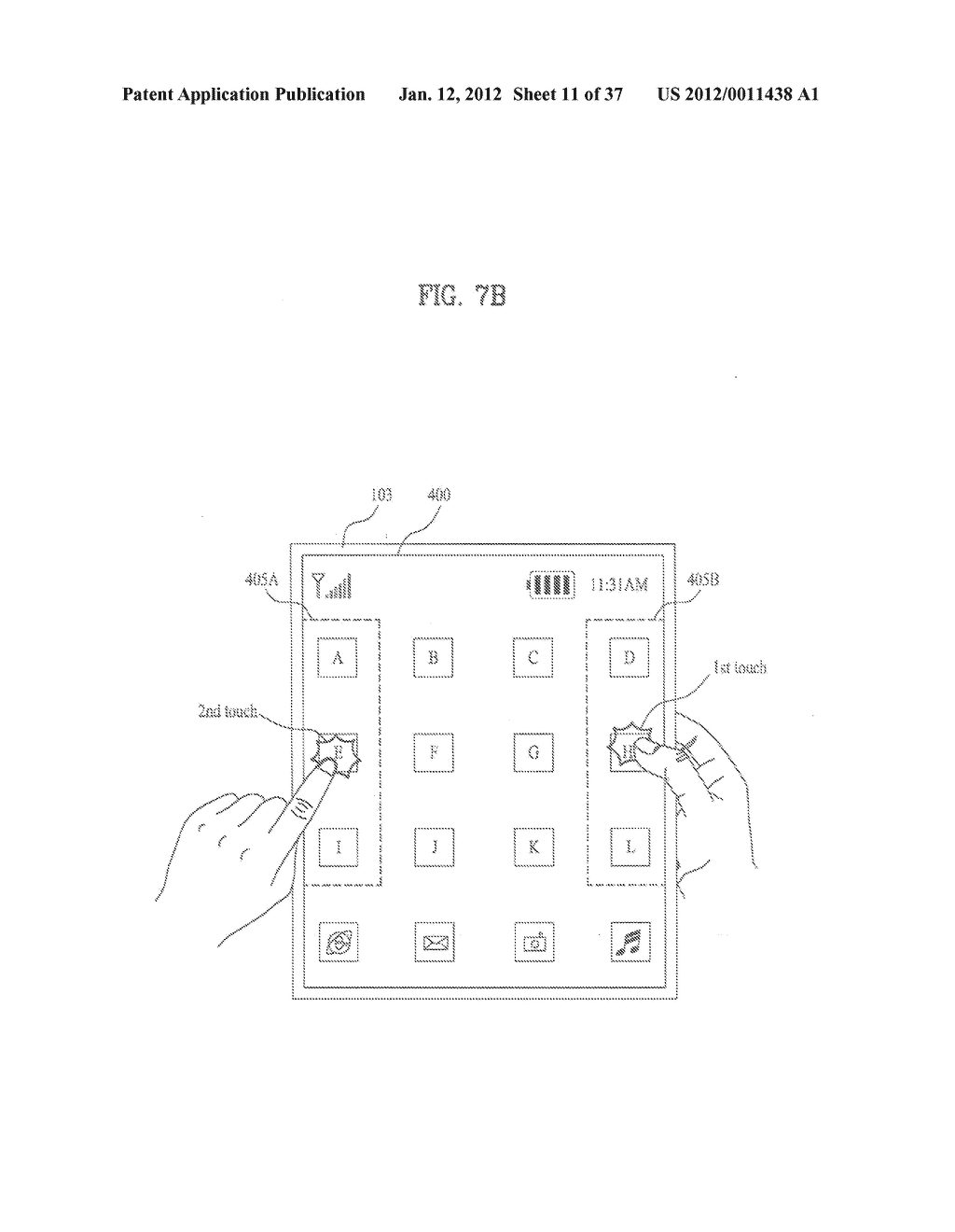 MOBILE TERMINAL AND CONTROLLING METHOD THEREOF - diagram, schematic, and image 12