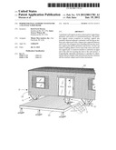 Perimeter wall support system for a manufactured home diagram and image
