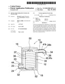 DEVICE FOR STERILIZING WATER AND USE OF SAME diagram and image