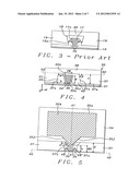Method to make an integrated side shield PMR head with non-conformal side     gap diagram and image