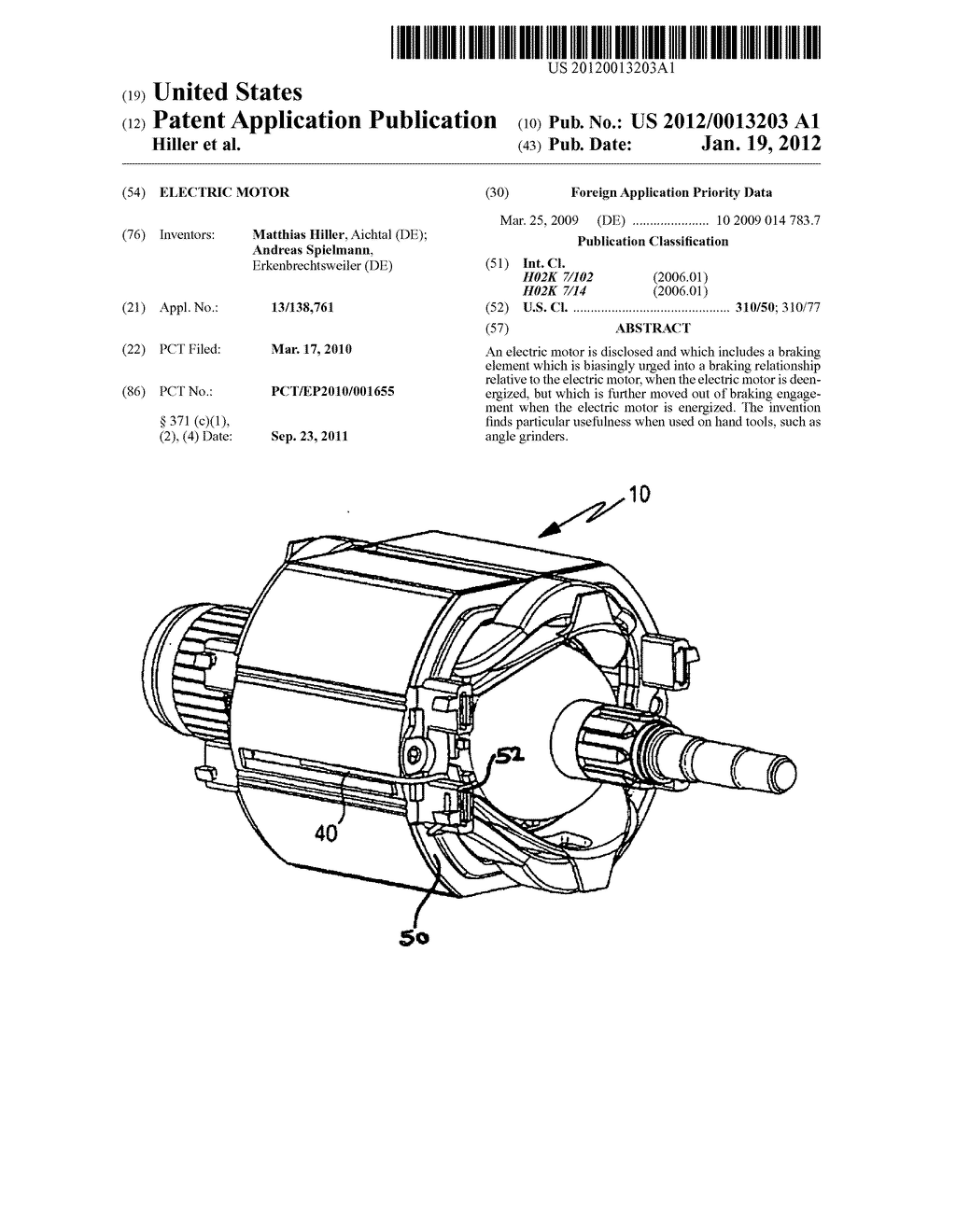 ELECTRIC MOTOR - diagram, schematic, and image 01