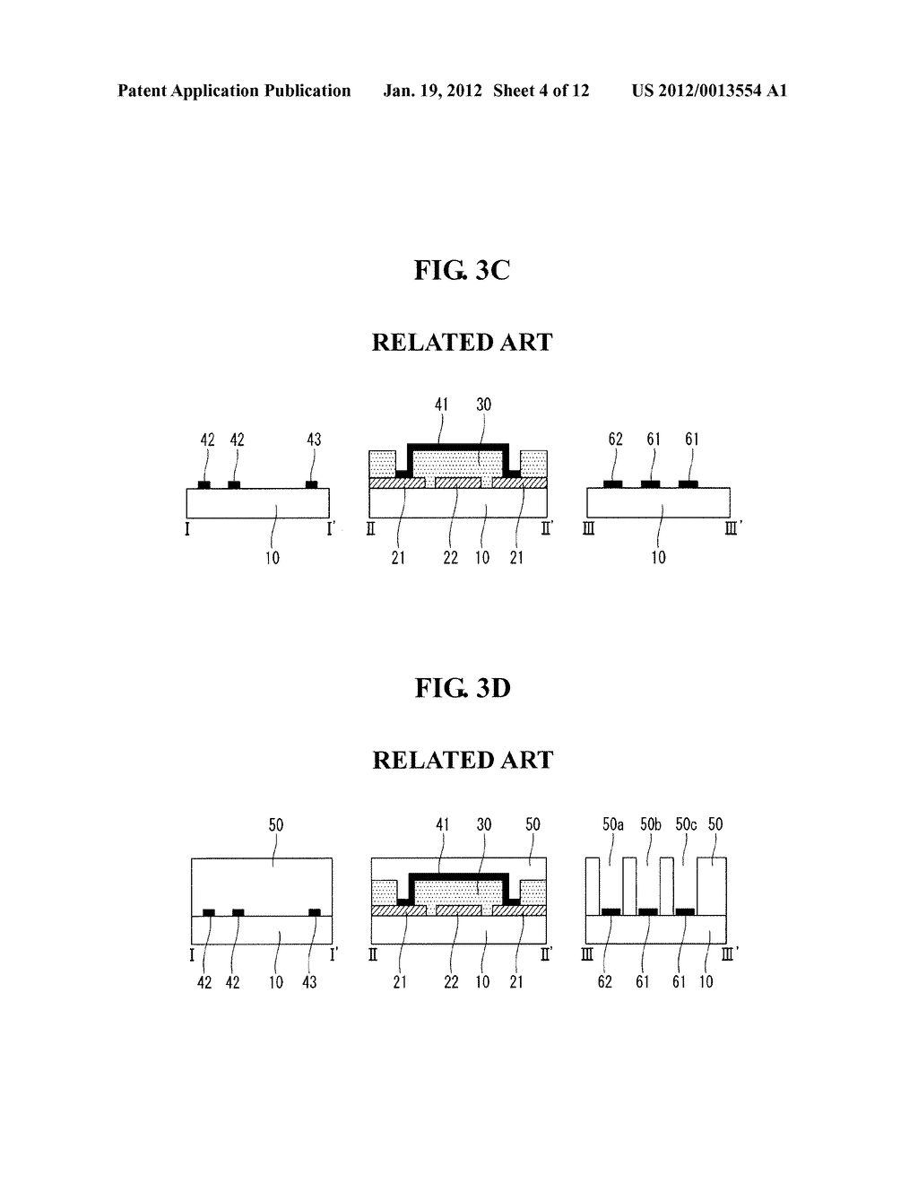 ELECTROSTATIC CAPACITY TYPE TOUCH SCREEN PANEL AND METHOD OF MANUFACTURING     THE SAME - diagram, schematic, and image 05